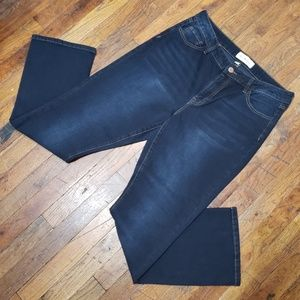 Ashley Mason High-Waisted Straight Jeans - Size 15